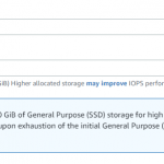 RDS performance issues by IOPS on GP SSD